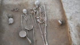 """Hallan restos de una """"pareja misteriosa"""" de hace 4500 años"""
