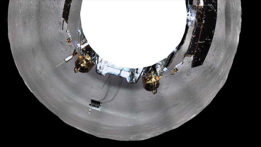 Vídeo: Sonda china aterriza en el lado oscuro de la Luna