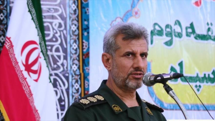 Comandante de la 2ª Zona de la Fuerza Naval del Cuerpo de Guardianes de la Revolución Islámica de Irán, Ramezan Zirahi.