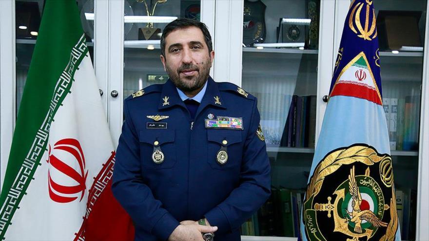 Comandante coordinador conjunto de la Fuerza Aérea de Irán, Mahdi hadian.