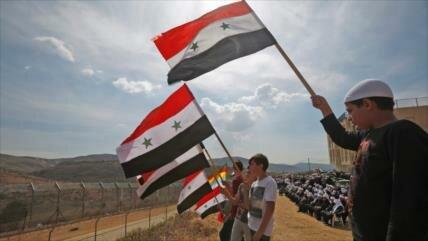 Sirios del Golán no permitirán que los israelíes roben sus tierras