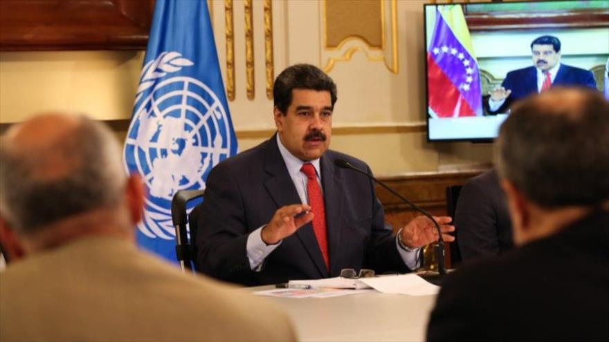 Maduro llama al diálogo con la oposición y pide apoyo de la ONU | HISPANTV