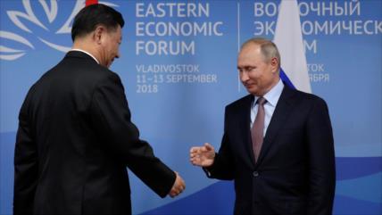 Una coalición ruso-china sería una 'pesadilla' para EEUU