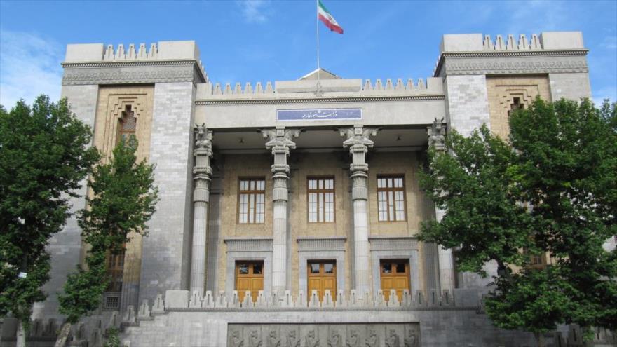Edificio de la Cancillería de Irán, ubicado en el corazón de Teherán, la capital persa.