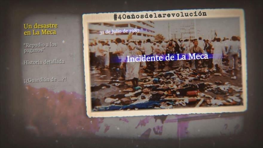 Retos y logros de una Revolución: Un desastre en La Meca