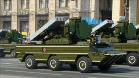 Ucrania oculta una batería de misiles en una casa en Donbás
