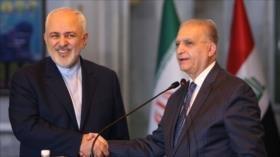 Zarif: Irán e Irak no permitirán que terceros socaven sus vínculos