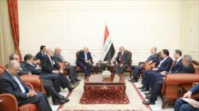 Premier iraquí y Zarif abogan fortalecer lazos Bagdad-Teherán