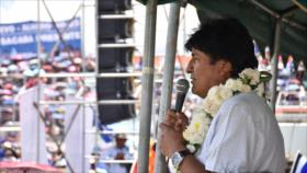Morales asegura a EEUU: El golpismo en Venezuela no pasará