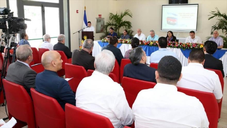 Foro de Amor, Paz y Solidaridad con Nicaragua, celebrado en Managua, capital del país centroamericano, 10 y 11 de enero de 2019.