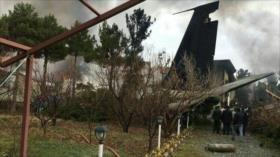 Se estrella en Irán un avión de carga Boeing 707