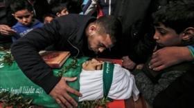 Muere un niño palestino herido por disparos de soldados israelíes