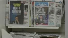 """Macron llama a un debate nacional por """"chalecos amarillos"""""""