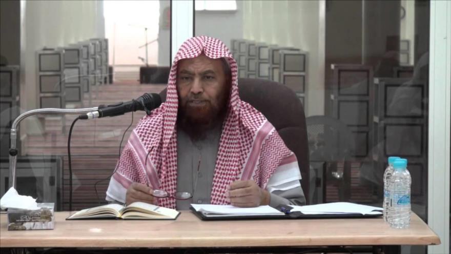 Ahmed al-Amari, un disidente clérigo saudí.