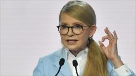 Timoshenko promete ganar presidenciales de Ucrania ante Poroshenko
