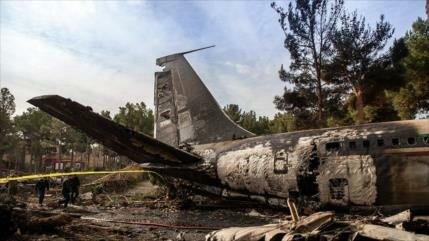 Bolivia y Nicaragua se solidarizan con Irán por accidente de avión