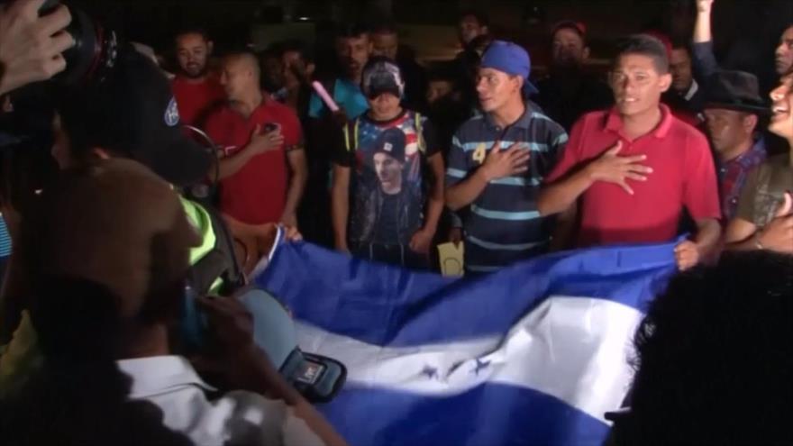 Se forma nueva caravana migrante en Honduras