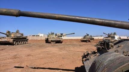 Ejército sirio golpea posiciones terroristas cerca de Idlib