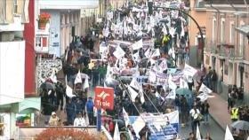 Trabajadores de Ecuador rechazan medidas económicas y concesiones