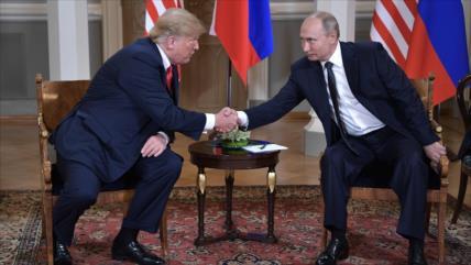 Rusia tacha de conspiración un supuesto pacto entre Trump y Putin