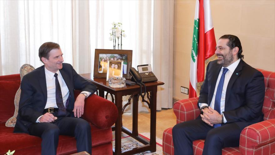 Irán denuncia visita 'provocativa' de diplomático de EEUU a Beirut