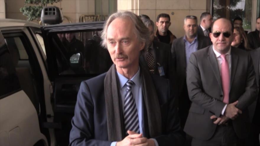 Nuevo enviado especial de la ONU para Siria llega a Damasco