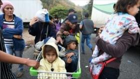 Nueva caravana de migrantes hondureños marcha hacia EEUU