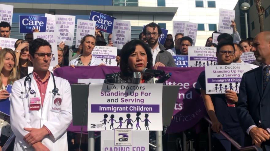 En EEUU protestan por falta de atención médica a inmigrantes