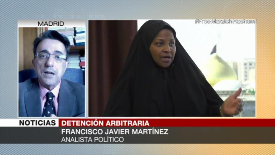 """Al detener a Hashemi EEUU busca anular libertad de expresión"" | HISPANTV"