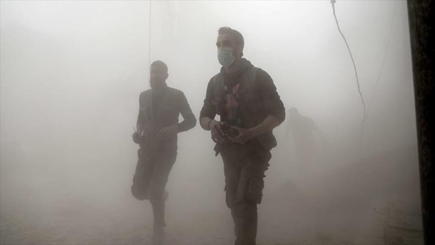 Rusia: Terroristas preparan nuevos ataques químicos en Siria