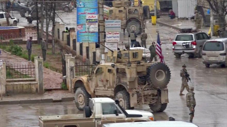 Ataque a patrulla de coalición de EEUU en Manbij deja 16 muertos | HISPANTV