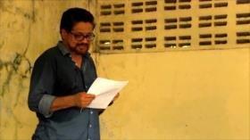 Iván Márquez critica al gobierno por el posconflicto