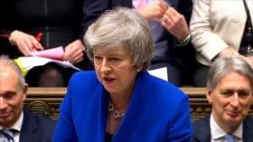 La derrota parlamentaria amenaza con tumbar al Gobierno de May