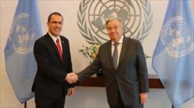 Venezuela denuncia ante ONU 'plan golpista' de EEUU contra Maduro