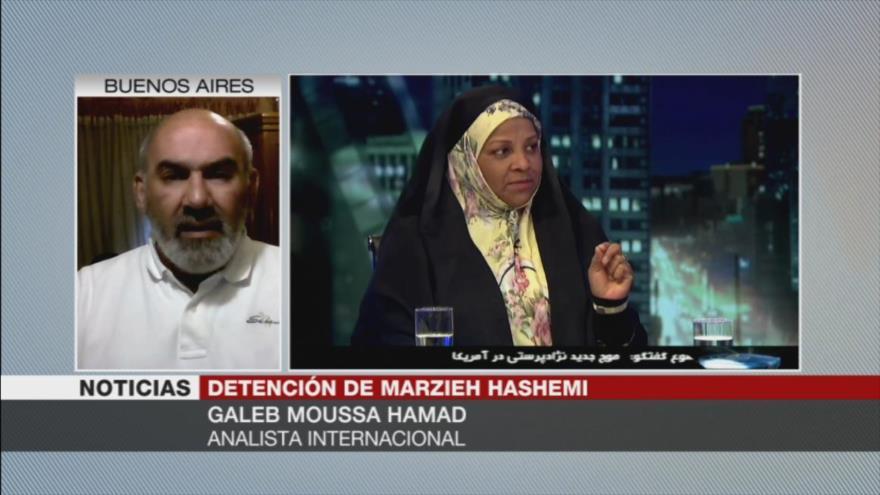 Hamad: Detención de Hashemi es resultado del fascismo en el mundo