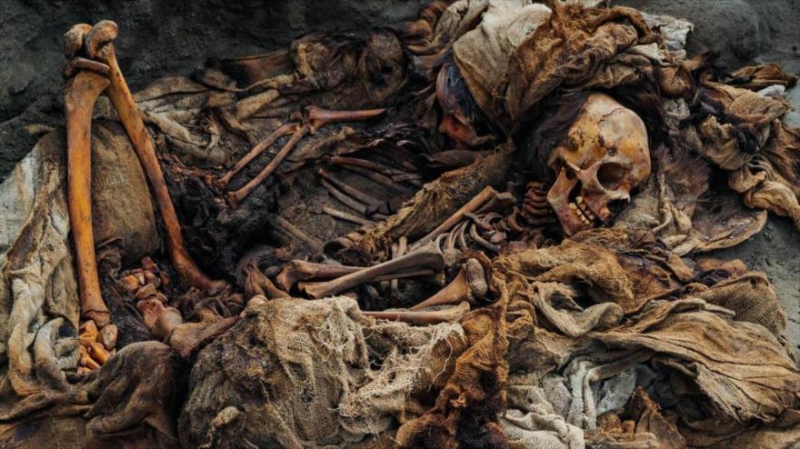 Los restos de los niños encontrados en Huanchaco presentan un corte en el esternón, lo que evidencia que se trató de sacrificios.
