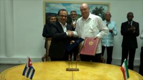 Irán y Cuba suscriben nuevos acuerdos de cooperación