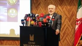 Zarif: Irán ha destruido el mito de la 'omnipotencia' de EEUU