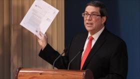 """Cuba tilda de """"chantaje político"""" sanciones de EEUU contra la isla"""