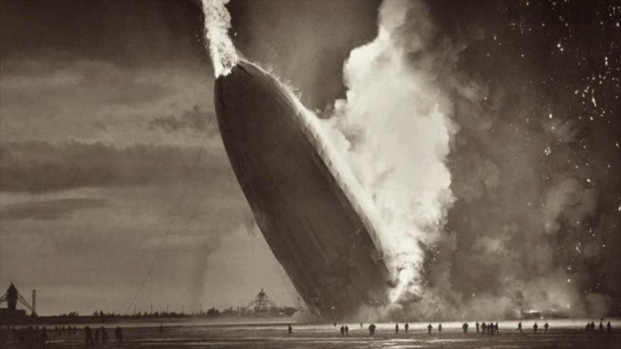 Fotos que sacuden al mundo: El Último Dirigible