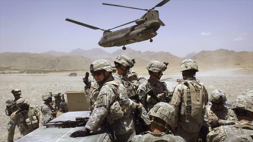Fuerzas estadounidenses en Afganistán.