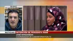 'Arresto de periodista de Press TV es parte de chantajes de EEUU'