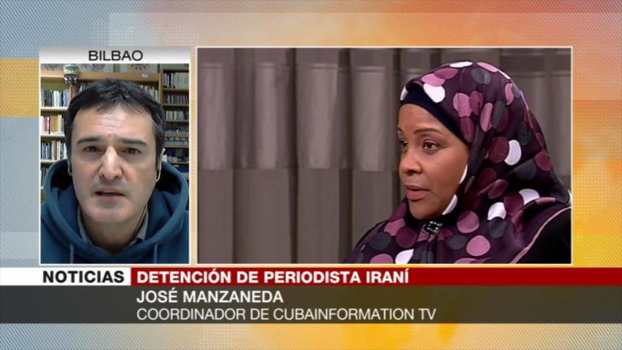 'Arresto de periodista de Press TV es parte de chantajes de EEUU'