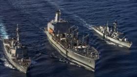 Buques británicos y de EEUU se alían en el mar de China Meridonal