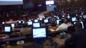 Resolución inconstitucional de Asamblea de Ecuador contra Venezuela