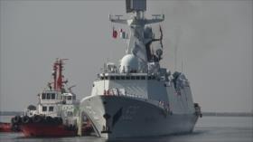 Buques de guerra de China llegan a Filipinas en visita amistosa