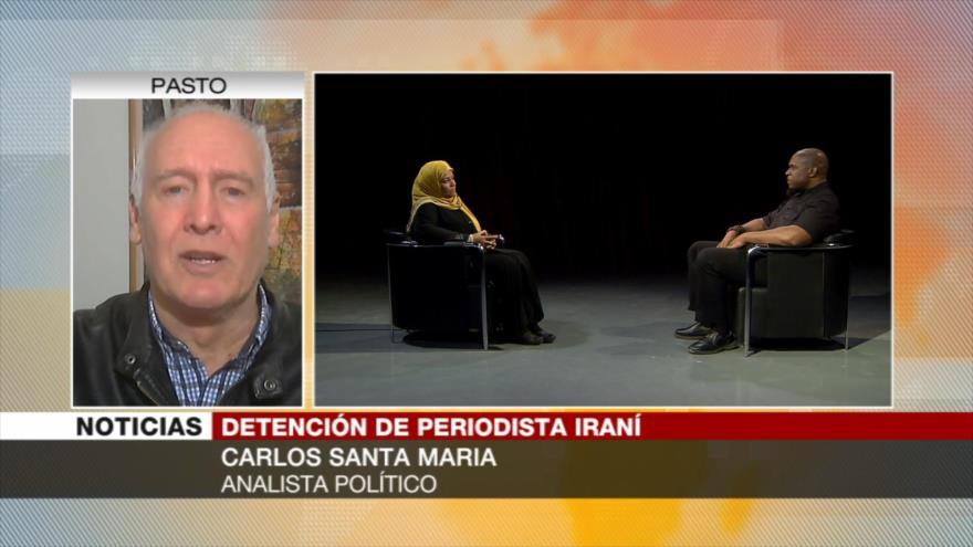 Santa María: EEUU detiene a Hashemi para amedrentar a Irán | HISPANTV