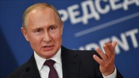 Putin: Creación de un ejército kosovar desestabiliza los Balcanes