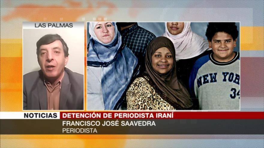 Saavedra: Detención de Hashemi muestra que EEUU no cumple con DDHH