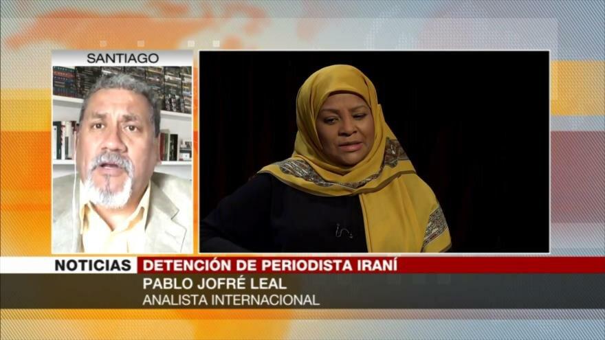 Jofré: EEUU viola DDHH de periodista iraní detenida por FBI